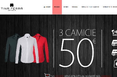 Camiceria Tina Ferrà: e-shop camicie 100% Made in Italy